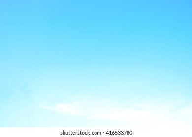 Soft white and blue sky clouds. Used as background.