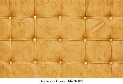 soft yellow leather upholstery