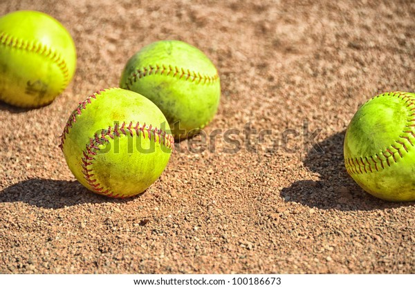 Softball on Infield