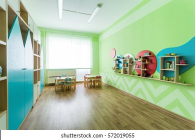 SoftGreen game room in the kindergarten.