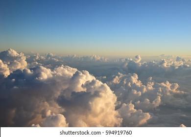 Softness of cloud.