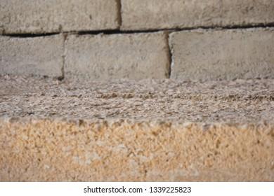 Soil brick work,homemade from soil