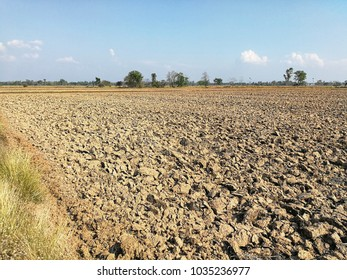 Soil with drought