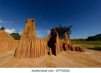 Soil erosion in Thailand