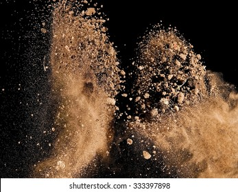 Soil explosion