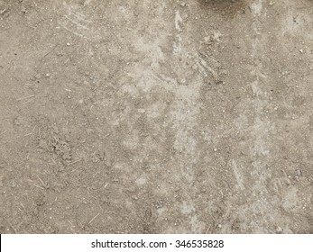 soil on floor texture