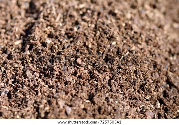 Soil Sawdust Oak Tree Japan Stock Photo Edit Now 725750341