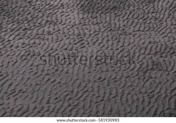 Soil texture background.