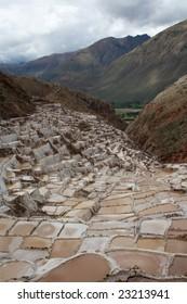 Solanas in Sacred Valley build by Inca