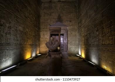 The Solar Boat, Edfu (Temple of Horus)