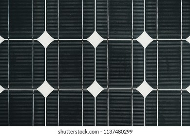 Solar cell battery panel detail and closeup