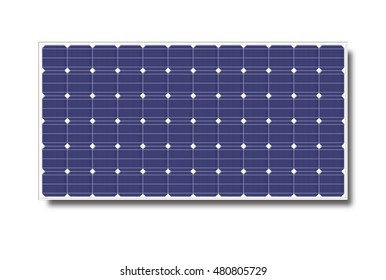 Solar cell with clipping path