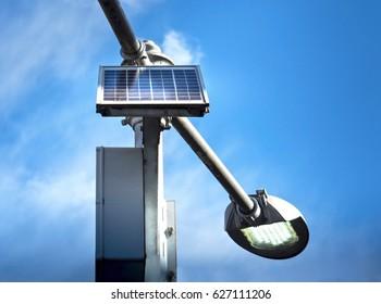 Solar Cell Energy For Street Light