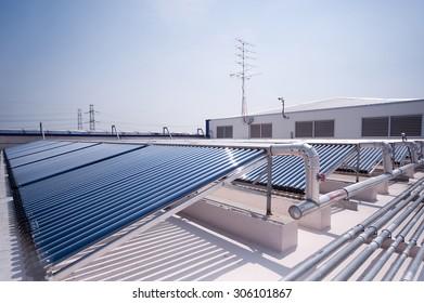 Solar cell, the energy from the sun.