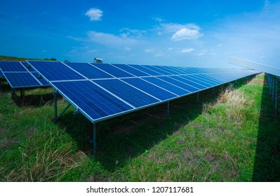 solar cell panel function to convert solar energy into electrical energy