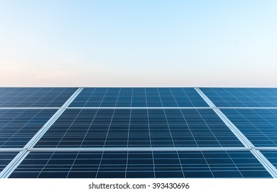 Solar cells, clean energy from natural, environmentally friendly.