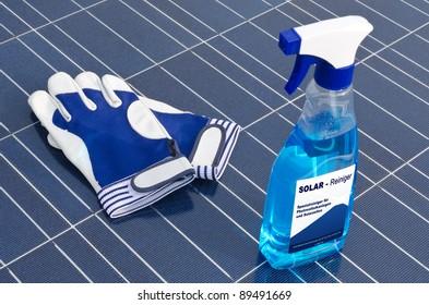 Solar cells and detergent - german