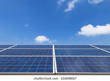 solar cells in power station alternative energy from the sun