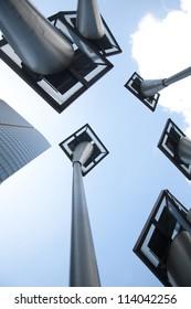 Solar city building/green building concept
