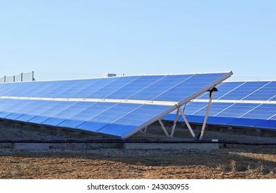 Solar collectors, transforming solar energy into electricity