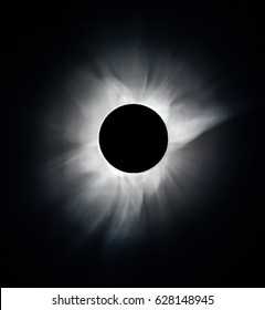 The Solar corona during a total solar eclipse on March 9, 2016. An observation from Tidore island, Indonesia (This is an original photo! Not NASA public pictures!)