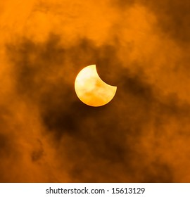 Solar eclipse on 1st August, 2008 from Russia, Urals Mountains