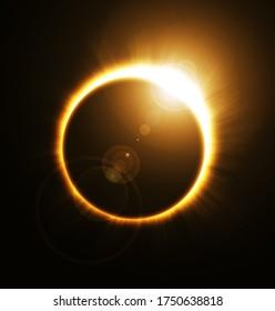 Solar Eclipse Sun Moon Planet Astronomy
