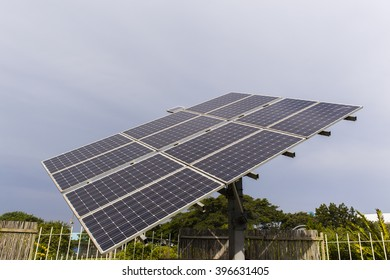 Solar Electricity Solar screen panels mounted frame structure for sun power energy electricity supply.