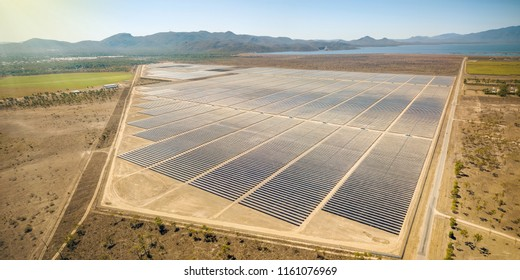 Solar energy farm for renewable sun energy – Townsville, Queensland