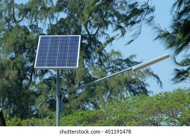 solar energy panel for make light power