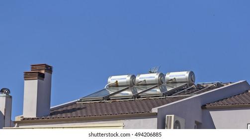 solar heaters chimney