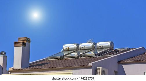 solar heaters sun chimney