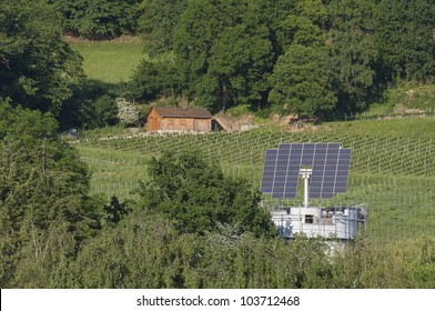 Solar House That Automatically Turns To The Sun
