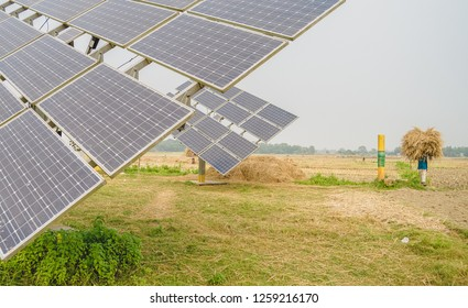 Solar Irrigation Pumps (SIPs) are highly popular among farmers in dry seasons. Subsidies made water cheaper than diesel powered irrigation pumps. The energy from SIPs is also being used for husking.