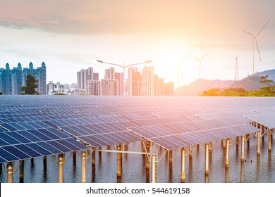 Solar and modern cities