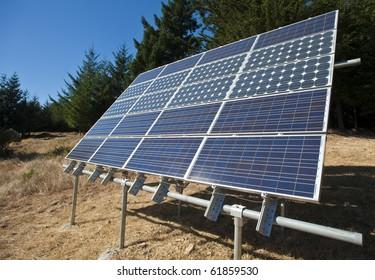 Solar Panel amongst the trees