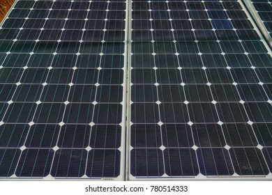 solar panel Clean energy.