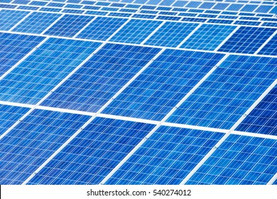 Solar panel detail abstract - renewable energy source