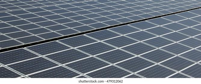 Solar Panel - Detail - Panorama
