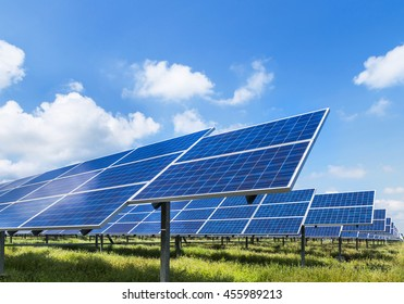 solar panel ecological power from natural.