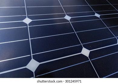 Solar Panel in horizontal layout