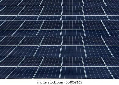 solar panel on background.