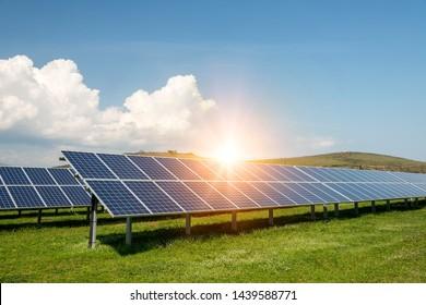 Solar Energy Nature Images, Stock Photos & Vectors