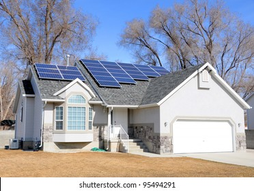 Solar Panel Powered Home