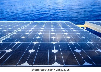 Solar panel renewable electricity use in the home.