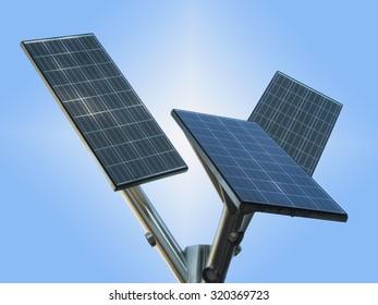 Solar Panel Tree