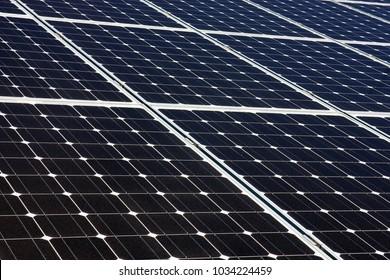 Solar panels, alternative energy, background