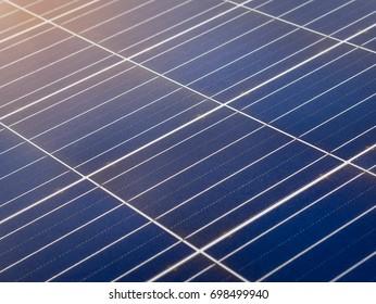Solar panels background, solar energy panel module power from the sun.