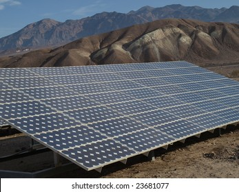 Solar panels in Death Valley 5