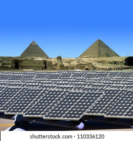 Solar panels in Egypt